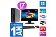 Hp Pc hp workstation z220 sff ecran 22
