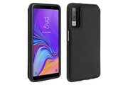 FORCELL Coque galaxy a7 2018 protection antichocs porte-carte forcell wallet noir