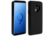 FORCELL Coque samsung galaxy s9 protection antichocs porte-carte forcell wallet noir