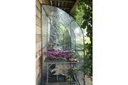 No-name Serre de jardinage serre de jardin murale en pvc - tube aluminium ø 16 mm - h 215 x 200 x 100 cm
