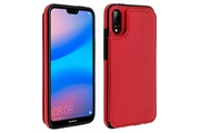 FORCELL Coque huawei p20 lite protection antichocs porte-carte forcell wallet rouge