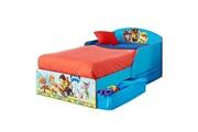 Worlds Apart Icaverne structure de lit pat patrouille lit enfant en bois avec tiroirs de rangement 70 * 140 cm -