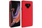 FORCELL Coque galaxy note 9 protection antichocs porte-carte forcell wallet rouge