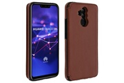 FORCELL Coque huawei mate 20 lite protection antichocs porte-carte forcell wallet marron