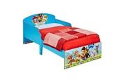 GENERIQUE Structure de lit pat patrouille ensemble lit enfant bois + chevet bois