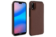 FORCELL Coque huawei p20 lite protection antichocs porte-carte forcell wallet marron