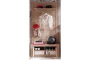 No-name Vestiaire - meuble d entree cougar dressing contemporain mélaminé décor chene naturel - l 96 cm