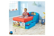 GENERIQUE Structure de lit pat patrouille pack lit enfant en bois avec tiroirs + meuble de rangement - worlds apart