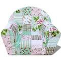 GENERIQUE Icaverne - chaises pour enfants superbe vidaxl fauteuil pour enfants motif de fleurs