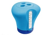 KOKIDO Thermomètre / distributeur de chlore 2 en 1 bleu - kokido