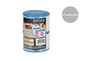 Intex 12 filtres pour spa gonflable - intex