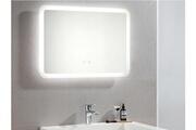 Vente-unique Miroir de salle de bain lumineux rectangle à leds orbitea - l70 xp3.5 xh50