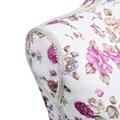 GENERIQUE Icaverne - valets de nuit superbe buste de couture de femme en coton blanc motifs à rosiers