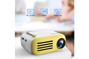 Excelvan Excelvan yg200 mini projecteur portable heim theater 1080p usb av hdmi full hd led vidéo-projecteur, jaune