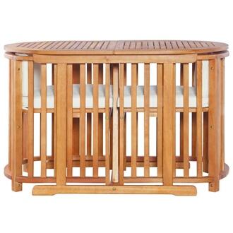 GENERIQUE Icaverne - ensembles de meubles d\'extérieur superbe vidaxl  mobilier de jardin 7 pcs bois d\'eucalyptus massif