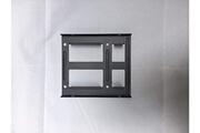 Vshop Vshop® adaptateur de montage métallique 3,5 pouces pour hdd/ssd 2 x 2,5 pouces pour pc. Support de disque dur interne