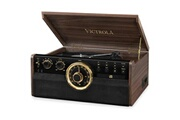 Victrola Empire 6-en-1 platine vinyle - expresso