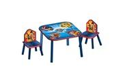 No-name Ensemble de meubles de chambre (hors lit) pat patrouille pack chambre enfant avec meuble de rangement, table, chaises et canapé gonflable