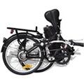 GENERIQUE Icaverne - vélos esthetique vélo électrique pliable et pile lithium-ion alliage d'aluminium