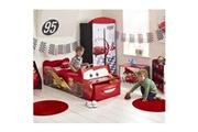No-name Structure de lit cars lit enfant en bois flash mcqueen avec rangement 70 * 140 cm -