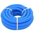 GENERIQUE Icaverne - tuyaux flottants pour piscines joli tuyau de piscine avec colliers de serrage bleu 38 mm 12 m