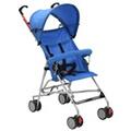GENERIQUE Transport de bébés selection amman poussette pliante en acier bleu
