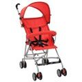 GENERIQUE Transport de bébés famille tokyo poussette pliante en acier rouge
