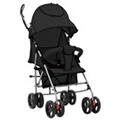 GENERIQUE Transport de bébés gamme tarawa-sud poussette/landau pliable 2-en-1 acier noir