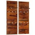 Vidaxl Portemanteau bois solide de sesham 118 x 40 cm