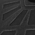 GENERIQUE Icaverne - supports pour parasols superbe vidaxl base carrée de parasol résine noir 19 kg