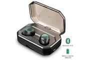 Vigorun X9-p écouteurs bluetooth sans fil noir avec micro
