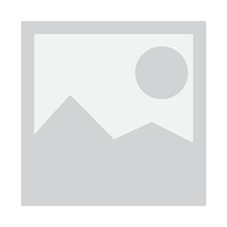 Beliani Salon de jardin en rotin blanc et coussins gris xxl