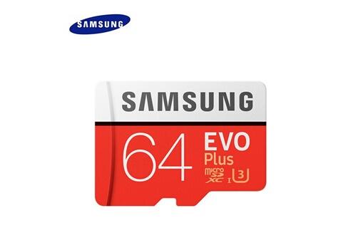 Samsung Carte mémoire micro sd 64 go 80 mo / s
