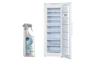 Bosch Congélateur armoire vertical blanc a++ froid ventilé 360l autonomie 25h no frost freshsense gsn58vw30