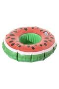 Intex Porte gobelet gonflable pastèque - diam. 17 cm