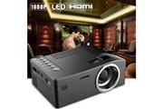 Generic 1080p hd led accueil mulitmedia théâtre cinéma tv usb vga sd hdmi mini projecteur bk projector 25
