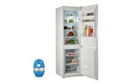 Indesit Réfrigérateur frigo combiné blanc 339l a+ froid statique technologie less frost lr8s1w