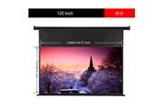 Excelvan Excelvan 120 - inch 16:9 ecran de projection pour videoprojecteur electrique hd eu noir