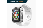 Hobby Tech Hobby tech coque en silicone souple pour apple watch serie 2 / 3 42 mm transparente