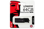 Kingston Kingston 64go datatraveler 104 usb 2.0 flash stick clé usb noir