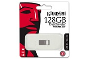 Kingston Clé usb 128go kingston datatraveler dtmc3 usb 3.1 type a 128go lecteurs usb flash argent