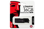 Kingston Kingston 16go datatraveler 104 usb 2.0 flash stick clé usb noir