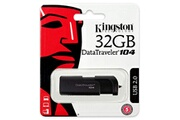 Kingston Kingston 32go datatraveler 104 usb 2.0 flash stick clé usb noir