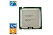 Intel Processeur intel core 2 quad q6600 2.40ghz slacr lga775 8mo