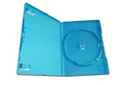 Hobby Tech Boitier de remplacements cd/dvd pour jeux wii-u consoles bleu