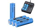 Xcsource 4pcs véritable gtl 18650 batterie 3.7v rechargeable li ion 12000mah rc994