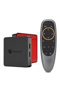 Beelink Gt1 mini tv box android 8.1 amlogic s905x2 quad core 4 go + 64 go avec télécommande vocale