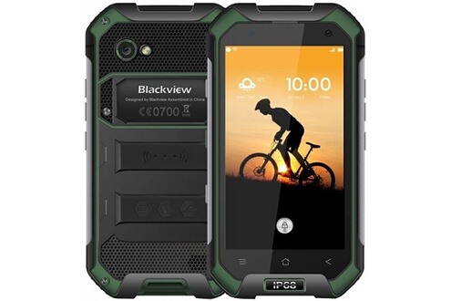 Blackview Blackview bv6000 - double sim - 32 go, 3go ram - vert