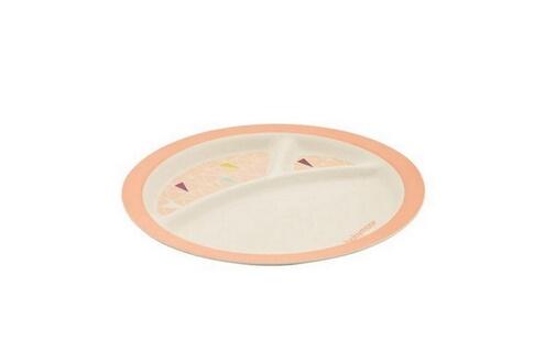 Babymoov Coffret vaisselle bambou couleurs - rose