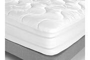 Sleepissime Surmatelas 90x190 synthétique forme drap housse satin de coton royal